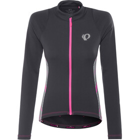 PEARL iZUMi Select Pursuit maglietta a maniche lunghe Donna, black whirl
